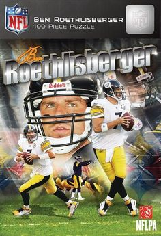 Pittsburgh Steelers Ben Roethlisberger Puzzle - 100pc