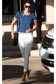 This Is How Kendall Jenner Does Denim On Denim #refinery29