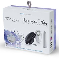 COLECCION WE VIBE PASSIONATE PLAY NEGRO
