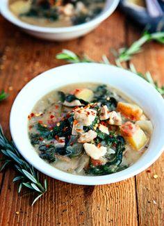 Dijon Chicken Kale Stew