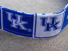 University of Kentucky Dog Collar (Large). $14.00, via Etsy.