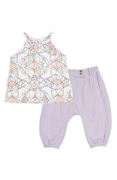 KARDASHIAN KIDS Racerback Tank & Pants (Baby Girls) available at #Nordstrom