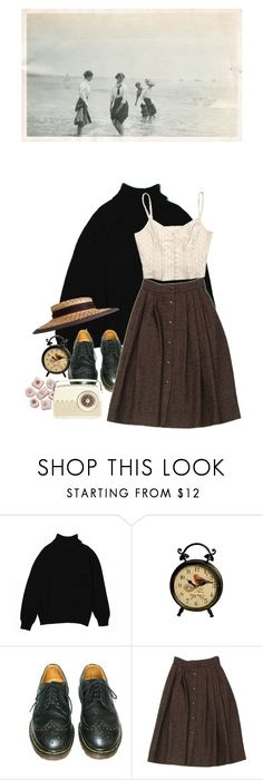 """""""warm"""" by paper-freckles ❤ liked on Polyvore featuring Karen Scott, Dr. Martens and Guy Laroche"""
