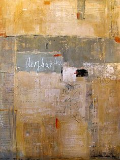 "Jean Geraci, 'Family Tapestry #7'    Mixed media on canvas  48"" x 36"""