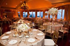 The gold ambience lighting makes this room glow!