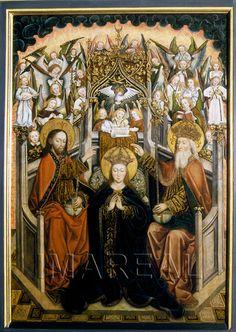 Krönung Mariens 1430-1470; Augsburg; Deutschland; Schwaben; Dom Mariae Heimsuchung  http://tarvos.imareal.oeaw.ac.at/server/images/7016757.JPG