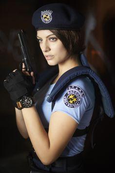 Jill valentine cosplay nackt