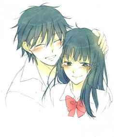 Find images and videos about anime, kawaii and manga on We Heart It - the app to get lost in what you love. Kimi Ni Todoke, Manga Love, Anime Love, Anime Cupples, Kawaii Anime, Otaku, Couples Cosplay, Hair Sketch, Couple Illustration