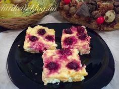 Meggyes túrós (totu-s) paleo süti Diabetic Recipes, Diet Recipes, Muffin, Breakfast, Health, Foods, Cakes, Breakfast Cafe, Food Food
