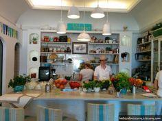Casa e bottega, Positano, Italy - hands down favorite restaurant there