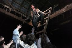 the walking dead beside the dying fire   ... Lincoln in THE WALKING DEAD – Episode 2.13 – Beside the Dying Fire
