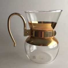 1960s Pyrex Coffee Decanter Carafe by BrownSugarAntiques on Etsy