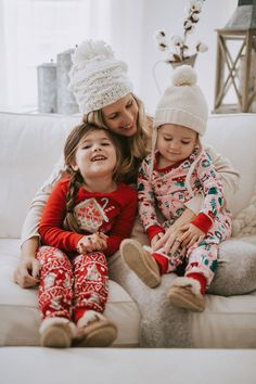 b7b5539141 Holiday Traditions. Girls Christmas PajamasChristmas ...