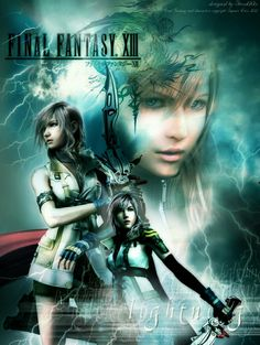 "FINAL FANTASY XIII LIGHTNING.. ""WE LIVE TO MAKE THE IMPOSSIBLE POSSIBLE"""