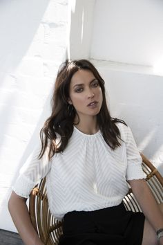 Shop online from our unique STORM new collection of incredible chic tees, ruffle blouses, denim shorts and the extraordinary accessories suitable for every occasion. Storm News, New Woman, Work Wear, Ruffle Blouse, The Incredibles, Popular, Clothes For Women, Chic, Tees