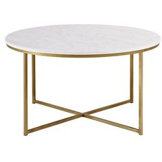 Style meets practical with round coffee table. Made of high-grade MDF, this table is sure to please on its own or styled with matching side table, while complementing any aesthetic.