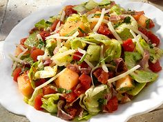 Melon Prosciutto Salad with Red Pack Tomatoes