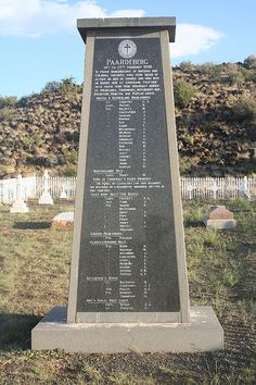 Gruisbank Garden of Remembrance, Battle of Paardeberg, My Great Grandfather was at this Battle with the Bt Black Watch North Vietnam, Vietnam War, British Soldier, British Army, Vintage Dance, Armed Conflict, African History, Military History, Family History