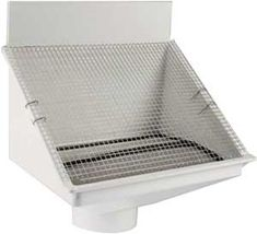 http://www.rainharvest.com    This Rain Harvesting Pty Downspout filter is great for any rain harvesting unit.  It reduces maintenance, improves water quality and eliminates fire hazards associated with gutters!