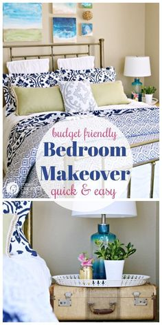 Guest Bedroom Ideas On A Budget | Before And After Room Makeover | Stylish  And Cheap.