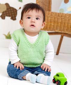 Easy baby vest.