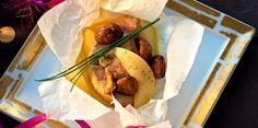 Papillotes de foie gras