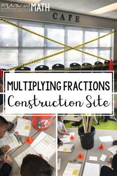 Fractions: Classroom to Real World - Mix and Math Nutrition Education, Math Education, Education Quotes, Math Teacher, Math Classroom, Future Classroom, Elementary Math, Upper Elementary, Math Resources