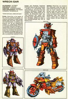 Wreck-Gar Transformers Characters, Transformers Optimus Prime, Classic Cartoons, Cool Cartoons, Mechanical Room, Hasbro Studios, Ex Machina, Marvel Vs, Manga