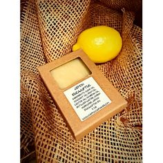 LEMON EUCALYPTUS HERBAL HANDMADE ALL NATURAL SOAP BAR This perfect combination of Lemon and Eucalyptus Essential oils makes a great refreshing handmade soap bar for everyone. It is a great way to feel fresh and energized in the mornings. Also Lemon Eucalyptus essential oil used in this soap is known to be an excellent bug repellent.