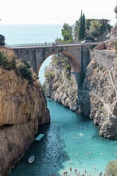 Fiordo di Furore on the Amalfi Coast | Heading to Positano, Italy/the Amalfi Coast & wondering what to do? I have narrowed down my list to 8 things you absolutely cannot miss! The best off-the-beaten-path things to see, do, eat, & drink
