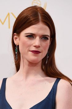 Rose Leslie Photos - Arrivals at the 66th Annual Primetime Emmy Awards — Part 2 - Zimbio
