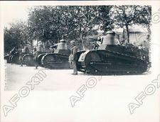 1927 French Military Army Tanks Support Shanghai China Massacre Press Photo in Collectibles, Photographic Images, Vintage & Antique (Pre-1940), Other Antique Images | eBay  original press photo of French Military Army Tanks Support Shanghai China Massacre. Photo shows French tanks in Shanghai, China at the time of the Shanghai Massacre of 1927. Photo measures 6.5 x 8.5 inches and is dated 6/14/1927.