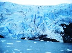 Portage Glacier in Anchorage, Alaska