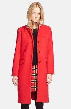 Diane von Furstenberg 'Isabelle' Embellished Coat at Nordstrom.com ...