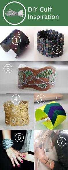 DIY Cuff Inspiration | HandsOccupied.com