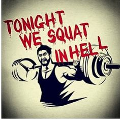 we squat in hell!