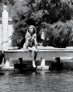 Bardot in 1968 at La Madrague, the home in St. Tropez where she lives today. She has few visitors and keeps away from the old port, preferring the St. Tropez of memory.