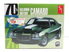 1970 1/2 Chevy Camaro Baldwin Motion AMT 854 1/25 Scale New Car Model Kit
