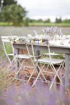 Heart Handmade UK: Event Styling Ideas With Lavender