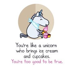 I love unicorns.. especially my unicorn. but they're all my children x)
