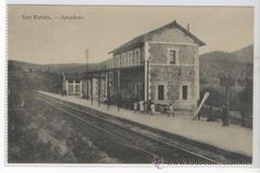 San Rafael - apeadero San Rafael, Europe, Parking Lot, Antique Photos, Train, Nature, Paisajes