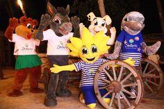 Solaris Beach Resort . Mascots - Solarko & Friends
