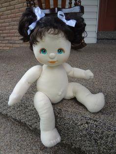 Mattel My Child Doll Brunette/Aqua Eyes (sold nude)