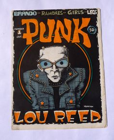Punk Magazine, Issue One from 1976.