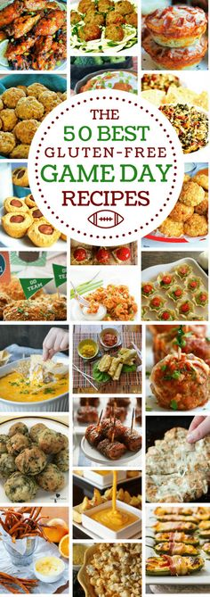 Fifty of the Best Gluten-Free Game Day Recipes! From cheesy dips to savory bites and saucy wings we've got everything you need for your next party or game day event! A collection of 50 gluten-free recipes from top gluten-free and food allergy bloggers. gluten-free, game day food, party food, appetizers Recipe from www.mamaknowsglutenffree #glutenfree #superbowlparty #appetizers #gamedayfood