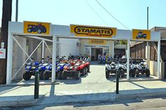 Stamatis Rentals has been established since 1969. The rental is open from 9am till 10pm.  They rent cars, scooters and quads (kymko, piaggio). To rent a scooter till 50cc you need to have category B driving license. If you want to drive a scooter over 50cc you need to have category A driving license.  It is necessary for you to have international driving license from countries that don't belong to the European Union, except from Russia.  Stamatis rentals provide also road assistance.