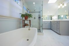 Secondary view of bathroom master bathroom remodel for Bathroom remodeling columbia md