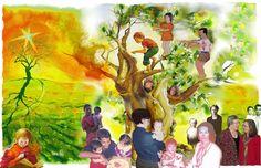Uvi Poznansky FREE books at the celebration of Our Family Tree