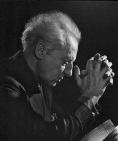 Leopold Stowkowski 1945 by Yousuf Karsh