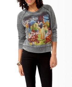 Snow White & The Seven Dwarfs Pullover | FOREVER 21 - 2019571697 $23